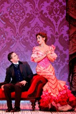 Chris Ryan, Alinta Chidzey in A Gentleman's Guide To Love and Murder