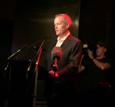 Bill Shorten at The Espy photo by Noise11
