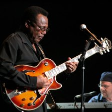 George Benson photo by Tim Cashmere