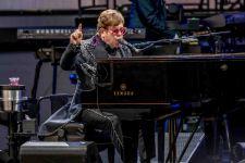 Elton John at Mt Duneed Winery 7 Dec 2019 photo by Jackson