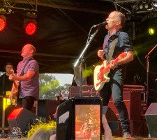 Barry Palmer and Mark Seymour of Hunters and Collectors at Red Hot Summer Bendigo photo by Noise11