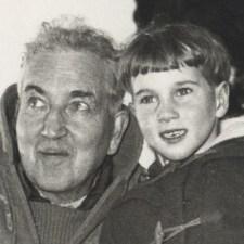 Robert Graves and son Tomas