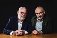 Paul Kelly and Paul Grabowsky photo by Pia Johnson