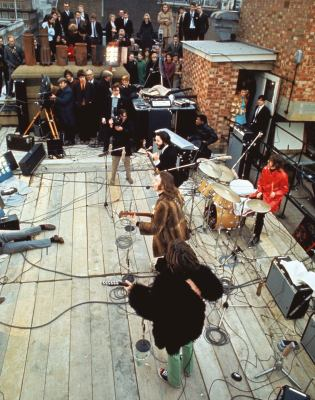 The Beatles Get Back rooftop sessions