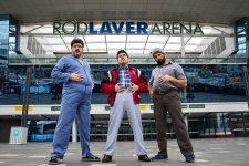 Sooshi Mango at Melbourne's Rod Laver Arena