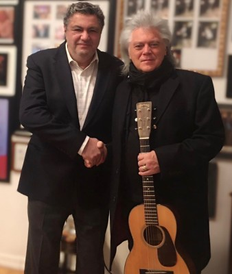 Nick Kontonicolas and Marty Stuart