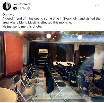 Lex Corbach ABBA post