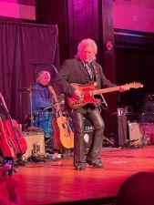 Marty Stuart at Adler Hall New York photo by Nick Kontonicolas