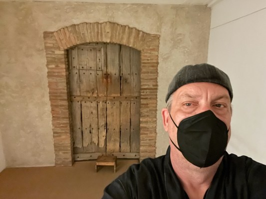 Étant donnés of Marcel Duchamp: Photo: Brian Ritchie