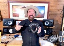 Andrew Farriss and his APRA AMCOS award