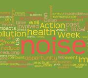 Noise Action Week Work Cloud