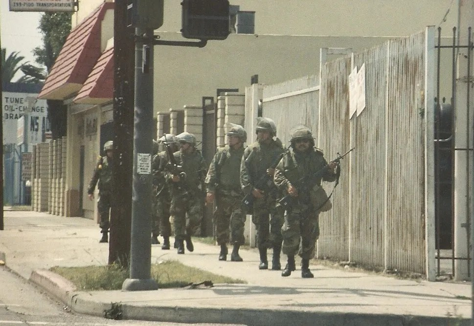 Military intervention during the 1992 LA Riots