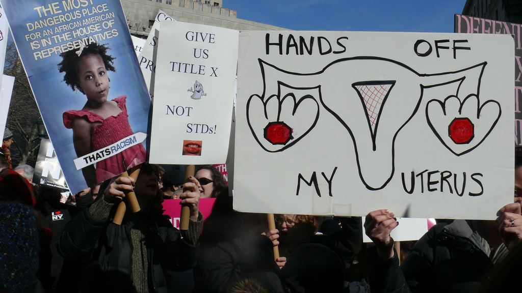 Planned Parenthood Rally, NYC, 2011