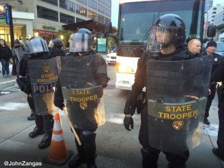 State Troopers Baltimore Riots Freddie Gray Protests 4-2015