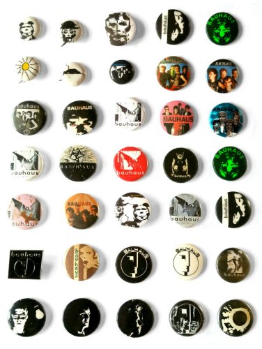 Bauhaus - badges
