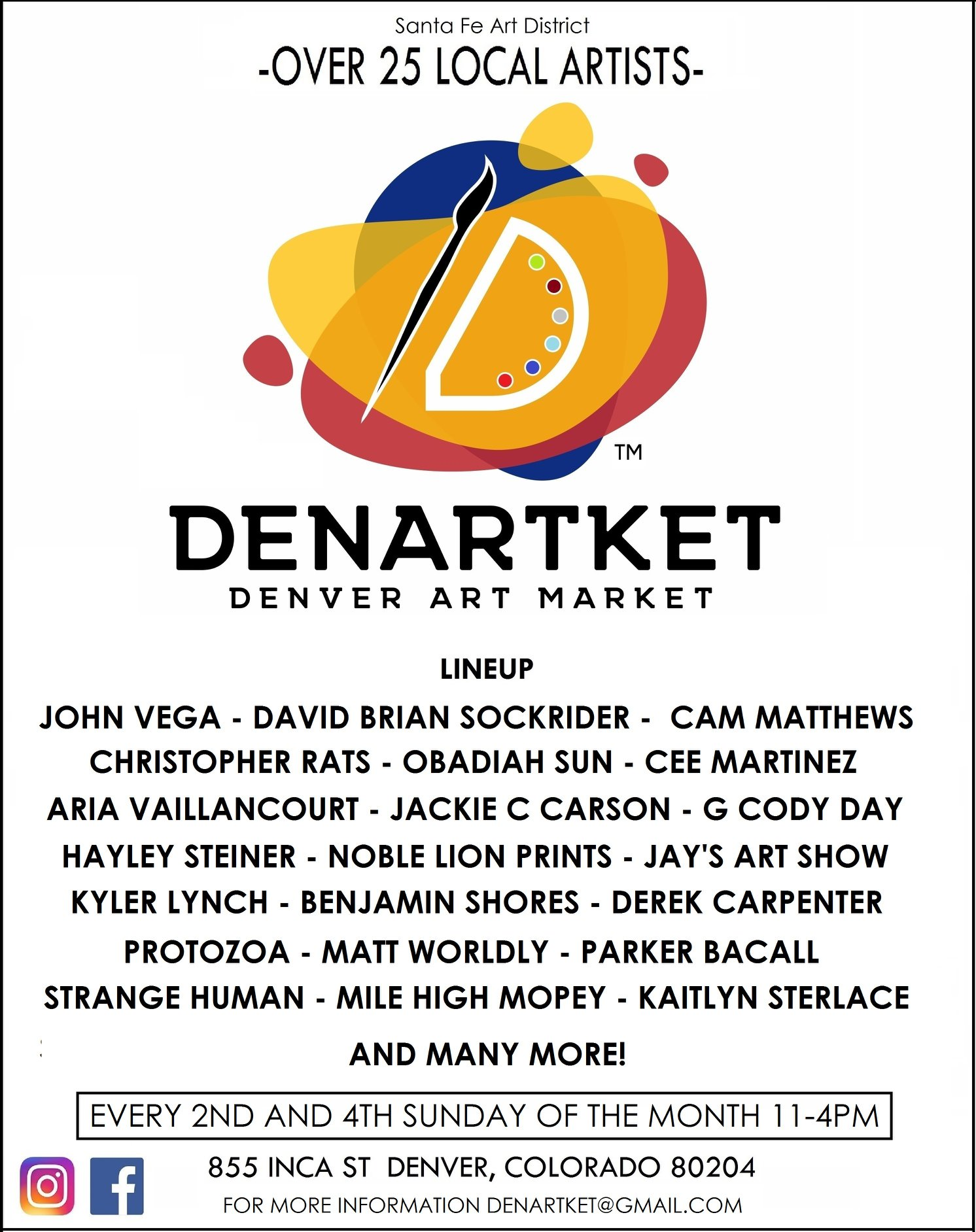 DenArtKet art and lineup