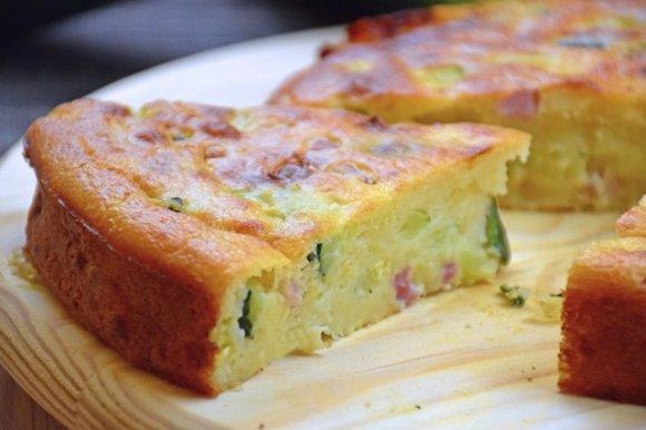 torta 7 vasetti salata preparazione 3