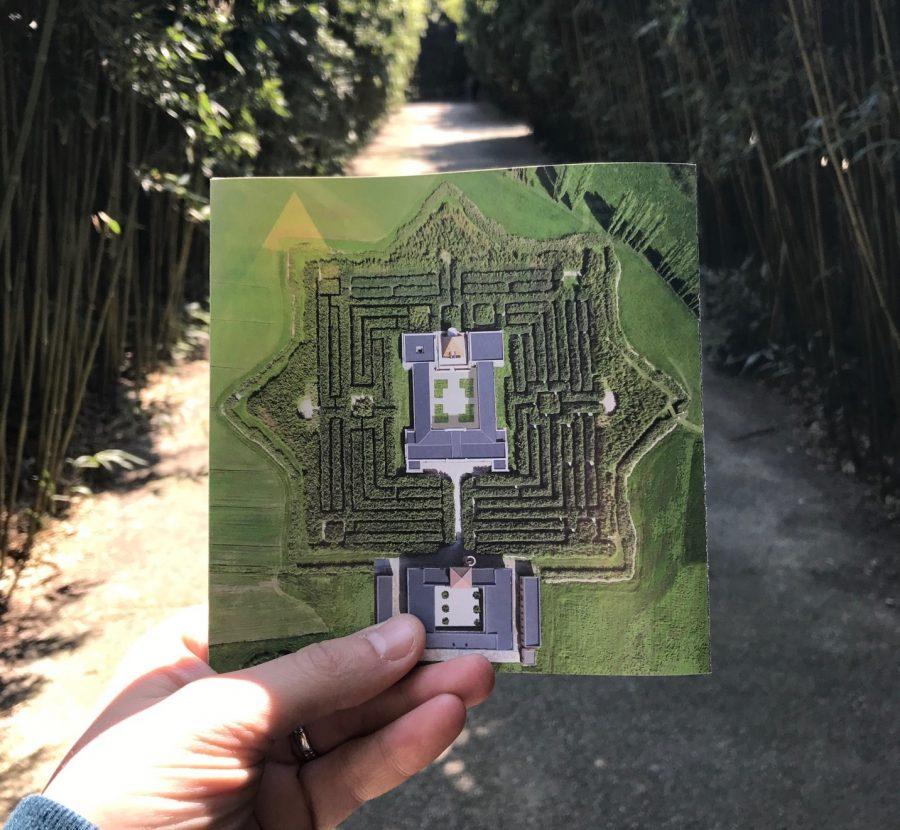 Labirinto della Masone Fontanellato Parma Franco Maria Ricci - mappa labirinto