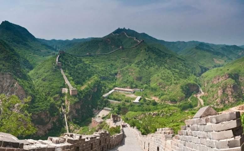 Inquinamento in Cina - La riforestazione vicino alla Grande muraglia