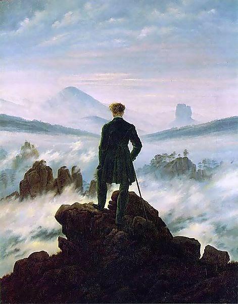 Il viandante sul mare di nebbia  Noi Siamo Futuro
