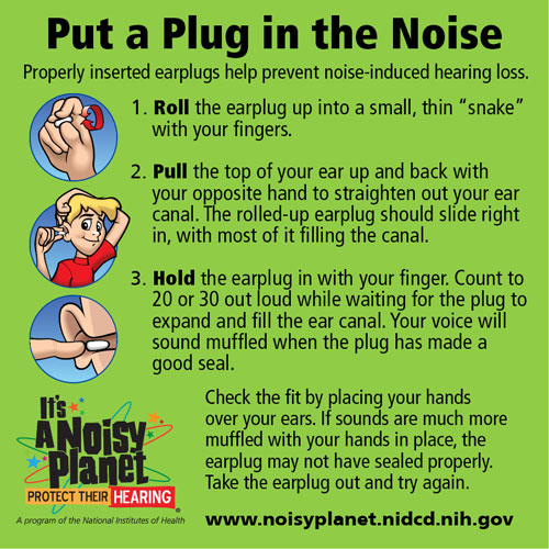 How Do You Protect Your Hearing?   Noisy Planet