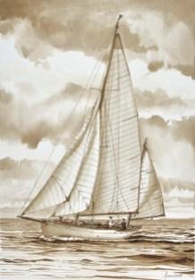 Barbara (1923)_Acquerello di Emanuela Tenti