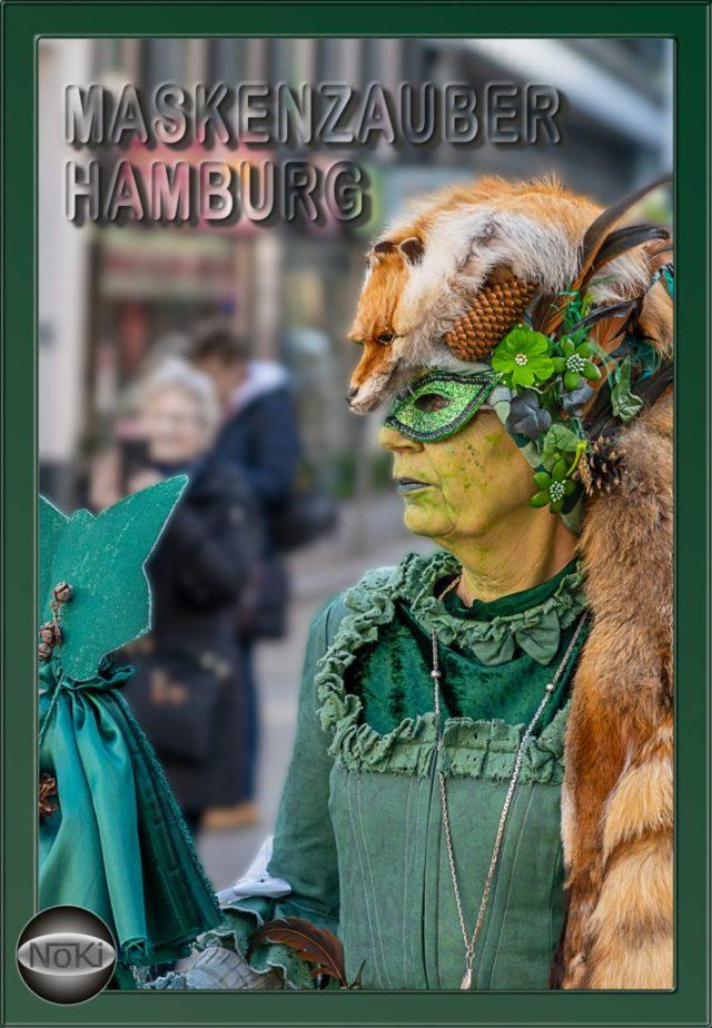 Maskenzauber 2019 in Hamburg