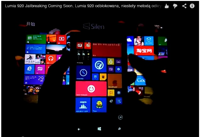 Lumia 920 jailbreaking