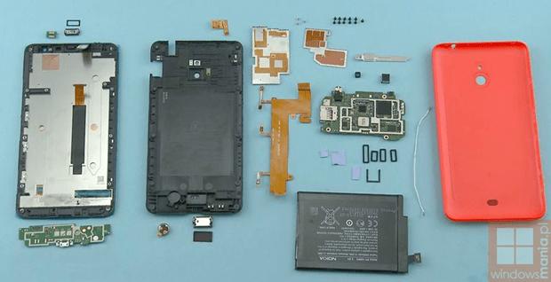 lumia1320 disassembled