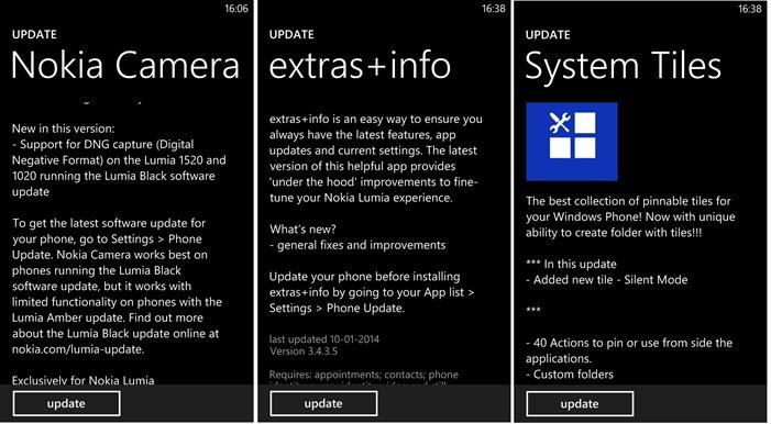 App updates 1