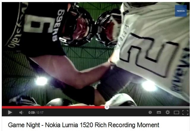 Lumia 1520-Game night