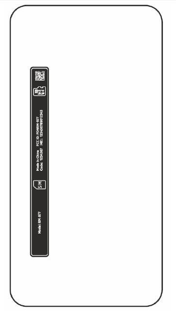Lumia 630 label