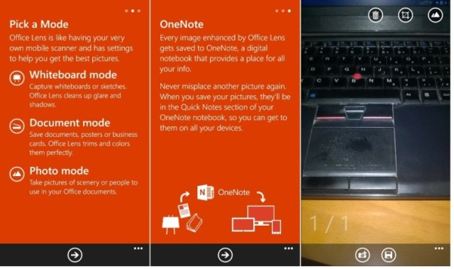 Microsoft updates Office Lens with pictures to Word