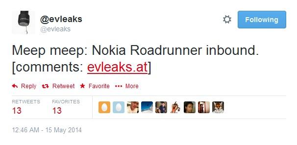 Nokia roadrunner
