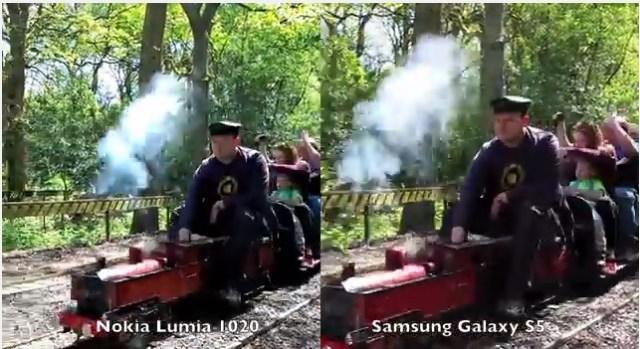 SGS 5 vs Lumia 1020