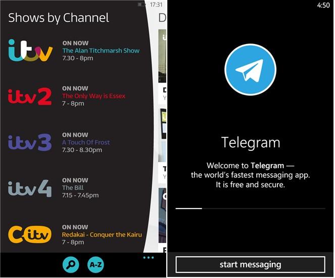 itv-Telegram