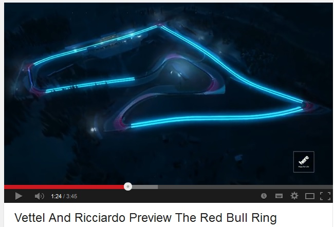 HERE red bull ring