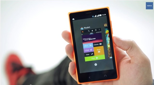 Nokia X2 UI