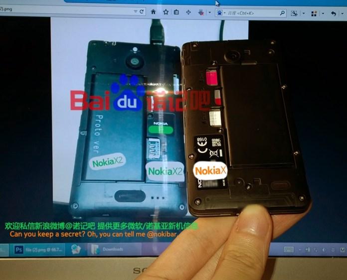 Nokia X2 vx Nokia X