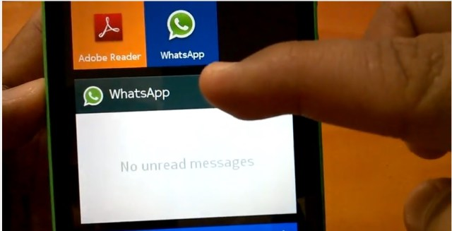 Nokia X Whatsapp