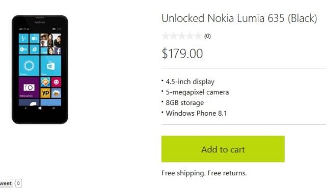 Lumia 635 unlocked