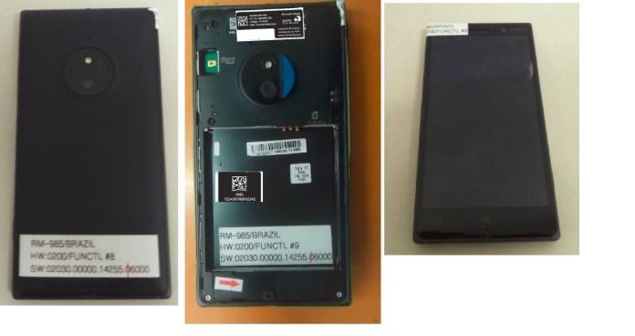 Lumia 830 RM-985