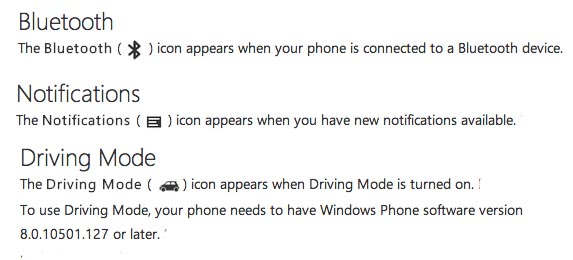 Windows Phone Tips What Do The Various Status Bar Icons Mean
