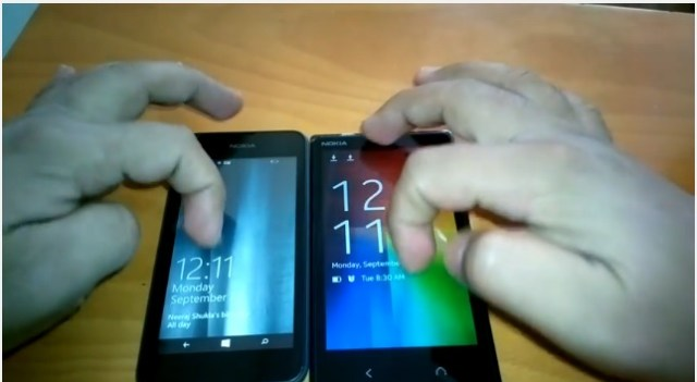 Nokia X2 vs Lumia 530