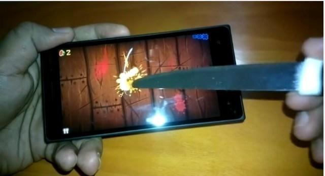 Lumia 830 knife