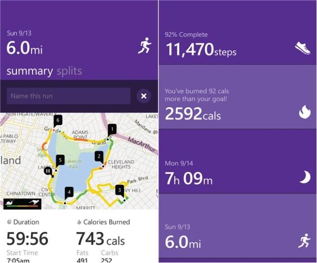 Microsoft health app