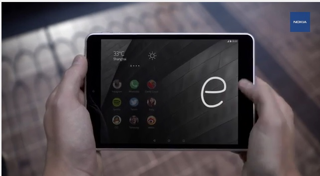 Nokia N1 Z launcher