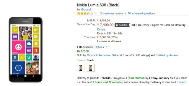 Lumia 638 4G