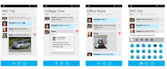 GroupMe app for Windows Phone updated with new features ...