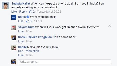 Nokia phone India
